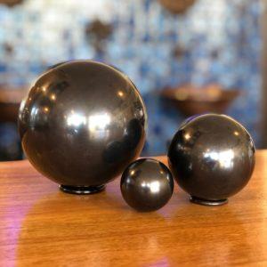 Shungite_Sphere-Polished