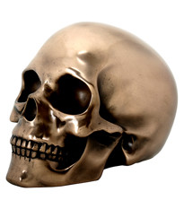 Bronze Skull Energy Focus Tool from Thought In Motion