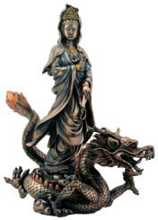kuan yin w dragon